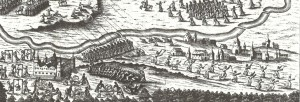 Battle between rebels and Muscovite government troops 1698
