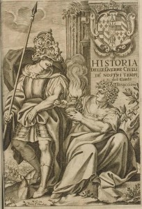 Bisaccioni Historia delle guerre civilis 1655 Titelblatt