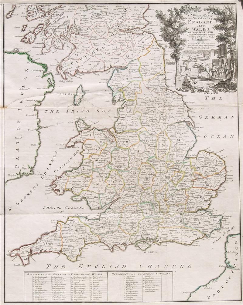 English Atlas of Geography 1733