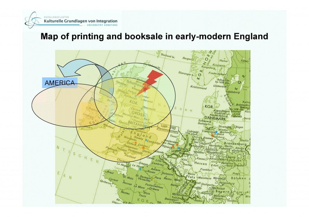 MAP OF PRINTING AND BOOKSALE