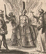 Dutch print_burning at the stake_detail
