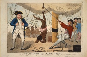 The abolition of the slave trade, 1792, educational use granted by the Library of Congress, Washington D.C.