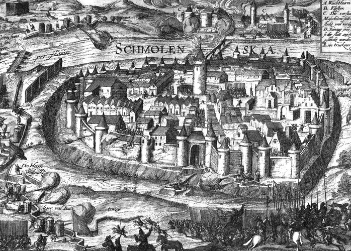 Siege of Smolensk 1609, (c) Public domain, wikimedia